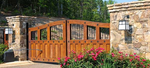 luxurious automated gates