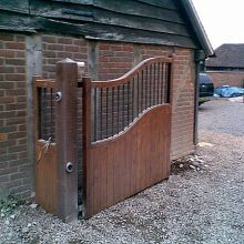 B & L bespoke security gates