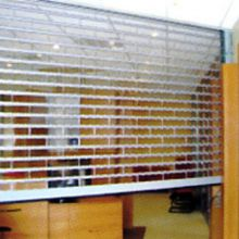 Clear / Transparent shutters allow customers to see your products out of hours without reducing your security
