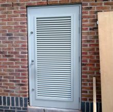 B & L Louvred Steel Doors are attractive as well as secure