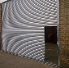B & L Steel Roller Doors and Steel Shutters can have portals for convenient access.