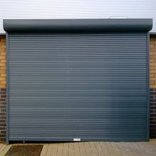 B & L Steel shutters offer security with an attractive finish