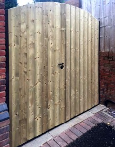bespoke timber side gates