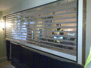 Clear Roller Shutters Transparent Security Shutters