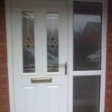 Composite Security Door
