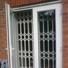 Concertina Doors Retractable Security Gates Security