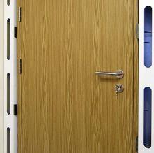 timber effect steel door