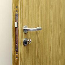 secure timber effect steel door