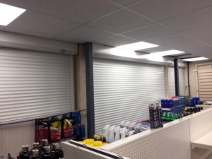 extruded aluminium security shutters