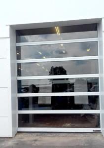 Horman Glazed Car Show Room Sectional Door
