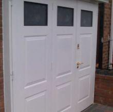 side door garage door