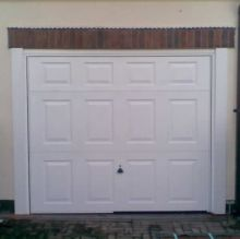 aluminium panel garage door
