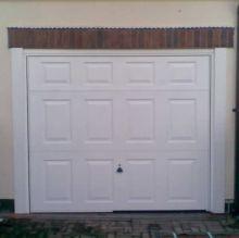 aluminium panel garage door
