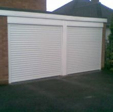 twin garage doors