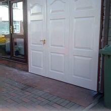 side opening door