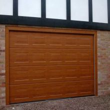 insulated garage sectional shutter door
