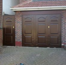 wood effect garages door