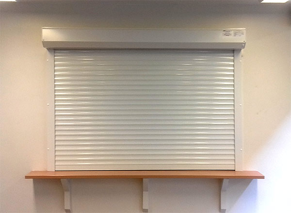 Serving hatch kitchen roller shutter