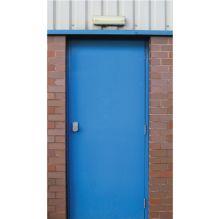 steel fire door steel hinges custom colours