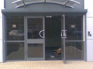 Secure Communal Entry Doors B And L Shutters Uk