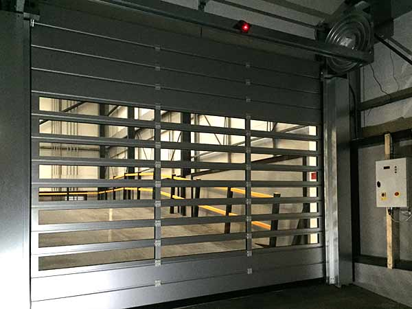 High Speed Security Doors By Hrmann Installation Garage Door