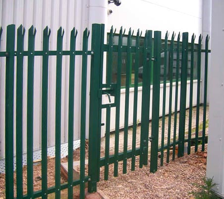 Security fences & security gates in a range of colours and finishes
