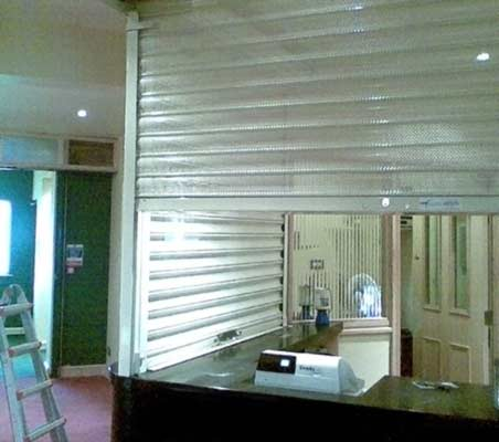 food serving hatch shutters