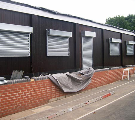 School security shutters