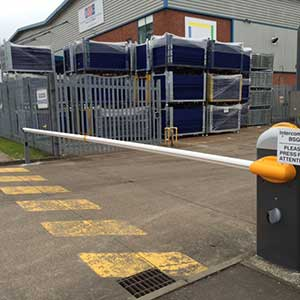car barriers simple secure