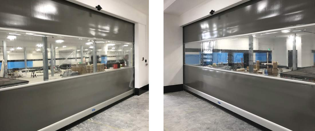 novo speed fast action curtain door