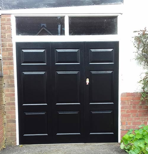 Side Hinged Garage Doors Installation and Supply for Self-Install, B ...
