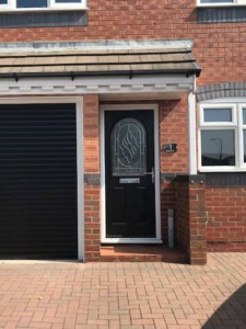composite security door