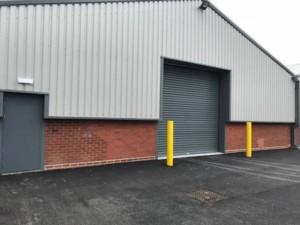 insulated roller shutters and metador defender fire exit doors
