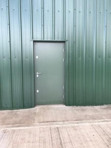 matching personnel access door