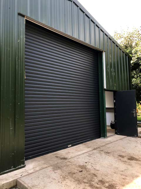 BL95 insulated roller shutters