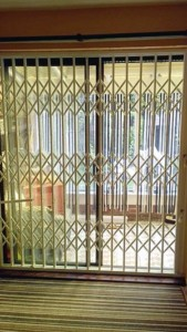 patio door security lattice gate grilles