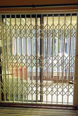patio door security lattice gate grilles