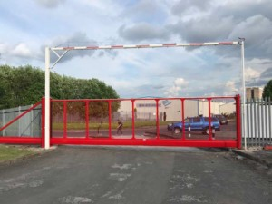 cantilever-security-gates automatic parking facilities