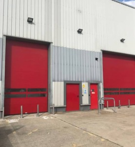 high speed insulated spiral doors