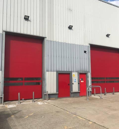 high speed insulated spiral doors