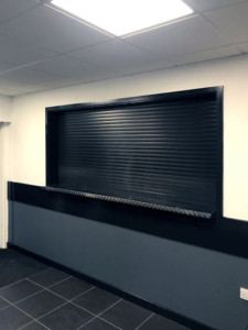 BL44 electrically operated compact shutters great security