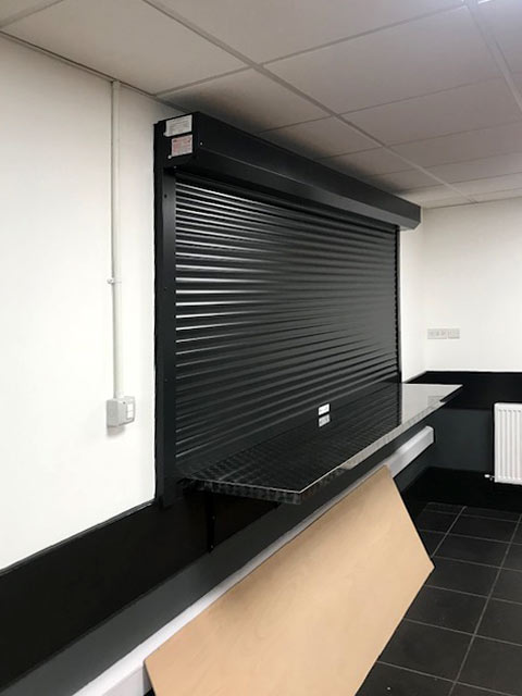 BL44 electrically operated compact shutters
