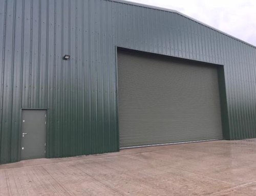 Bespoke Industrial Hangar Door
