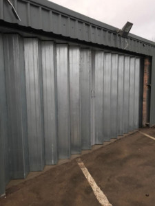 steel sliding folding doors
