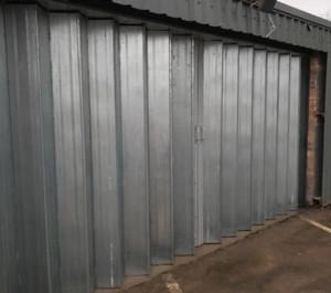steel sliding folding doors