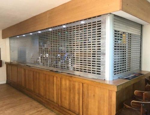 Aluminium Bar Room Security Grilles