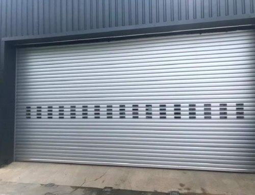 Industrial Insulated Roller Shutter Door BL95
