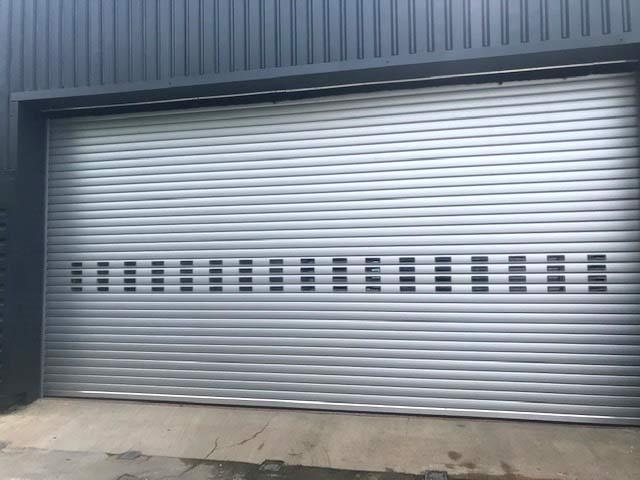 Industrial BL95 Insulated Roller Shutter Door External View