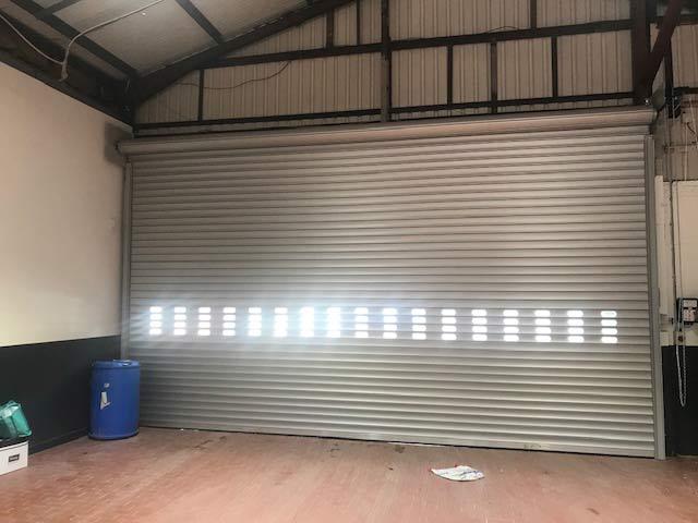 Industrial BL95 Insulated Roller Shutter Door Internal View