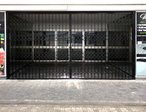X Lattice Gate Security Grilles